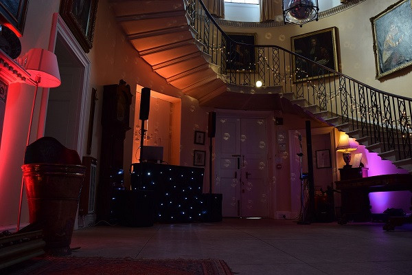 Mood Lighting, Hill Place, DJ Jules, Wedding DJ London