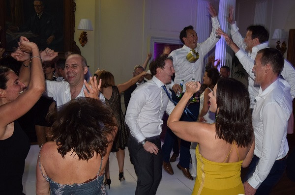 Just a fantastic party, Hedsor House, DJ Jules, Wedding DJ London and the south east