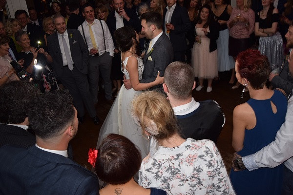 The First Dance for Lisa and Barry, Wedding DJ London