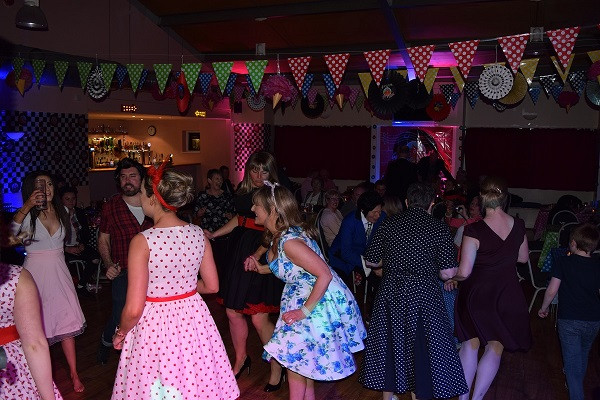 50s themed 60th birthday event, DJ Jules London Party DJ