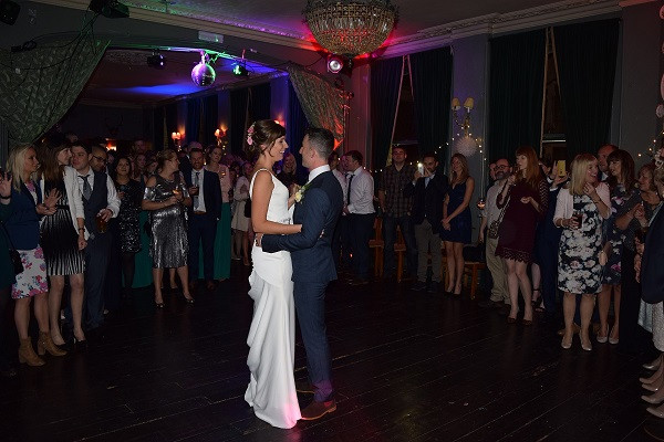 First Dance Briony and Andy, DJ Jules Wedding DJ London and the south east