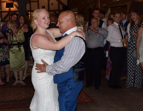 Bride and Father of the Bride dance, DJ Jules, Wedding DJ London