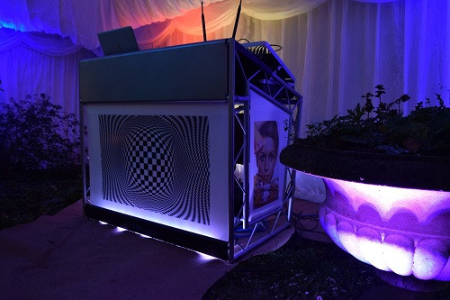 Personalised DJ Booth 60s Themed, DJ Jules, London Party DJ