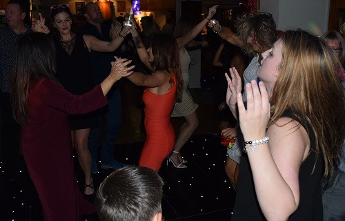 Celebrating with DJ Jules, London Party DJ