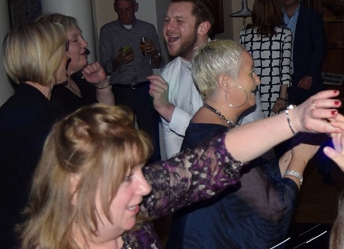 Dancing with DJ Jules, London Wedding DJ