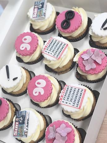 90th cupcakes this week! #cakedecorator
