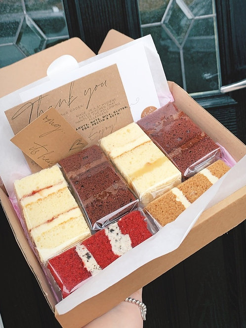 Cake Tasting Box - Dispatched 10/6/21