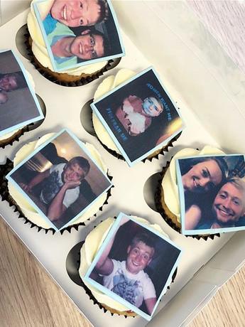 Personalised birthday cupcakes! #birthda