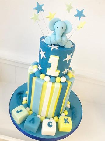 Happy 1st Birthday Jack! #cake #birthday