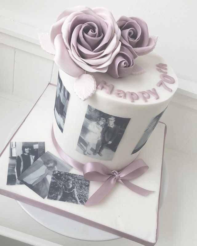 A stunning photo cake this week! #happy7