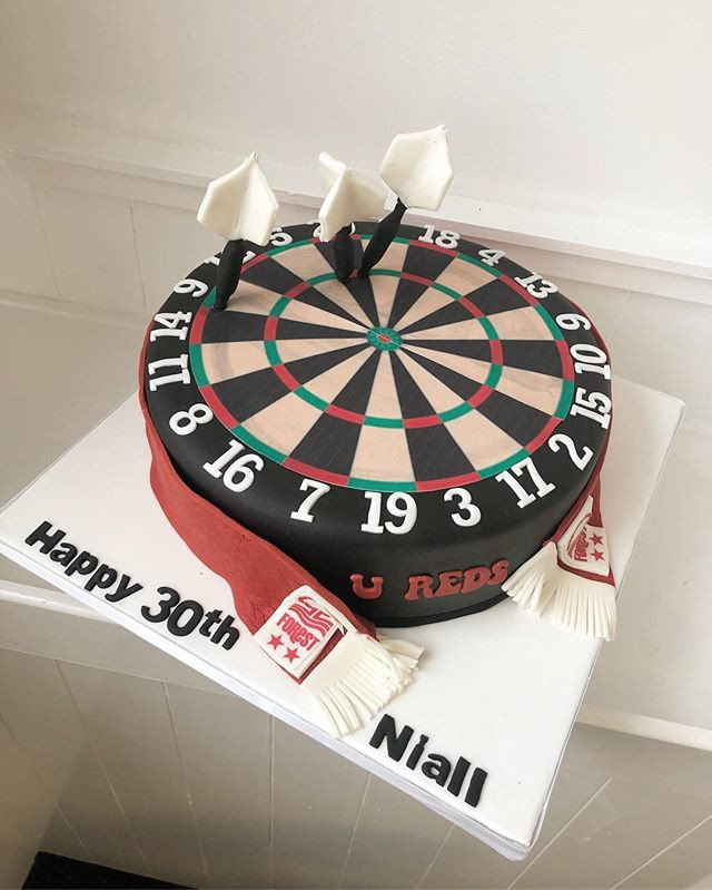 Dart and Forest fan cake! #cake #cakes #