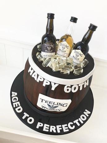 _teeling_whiskey birthday cake! #happybi