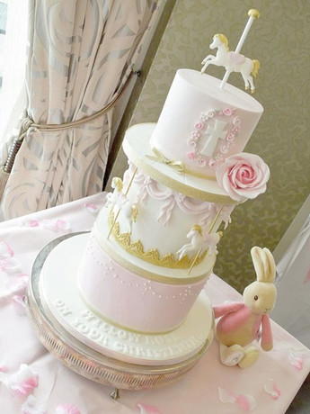 Throwback to this christening cake from