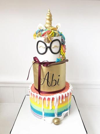 Harry Potter & Unicorn Cake! #harrypotte