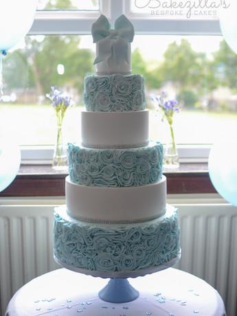 6 tier christening blue cake (5 of 5).jp