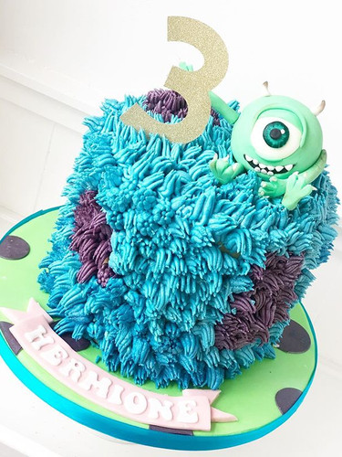 Monsters Inc cake this week for a Monste