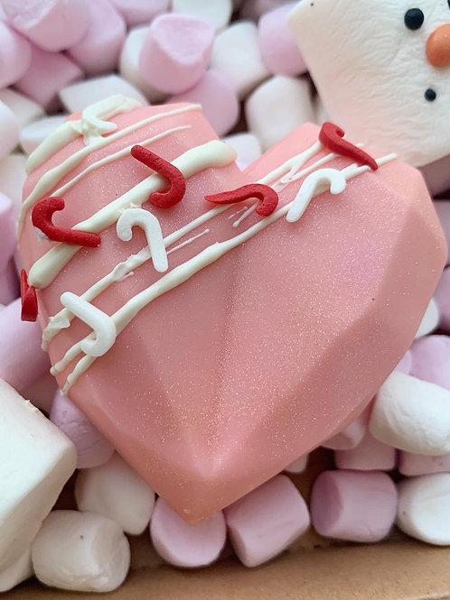 Pink Salted Caramel HeartBomb