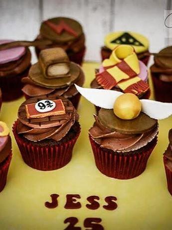#harrypottercupcakes #chocolate #cupcake