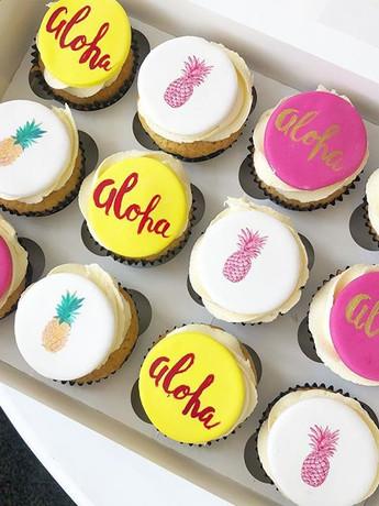 Aloha cupcakes! #aloha #cupcakes #aloha�