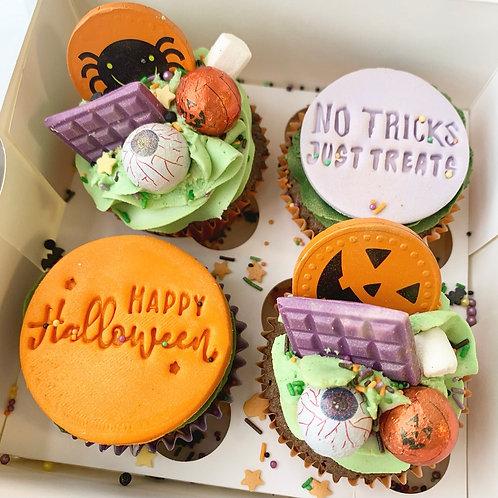 Halloween Cupcake Box £10