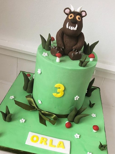 Gruffalo cake! #gruffalo #gruffalocake #