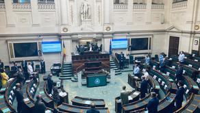 Hommage aux victimes des inondations en Belgique Séance plénière du lundi 19 juillet 2021