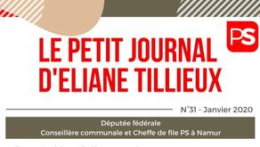 Le n°31 du Petit journal d'Eliane Tillieux est paru