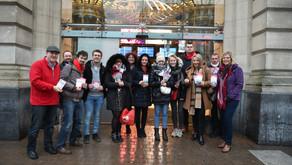 Nous avons milité le 6 mars pour les Droits des Femmes à Namur