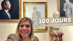 Présidente de la Chambre des Représentants, 100 jours déjà !