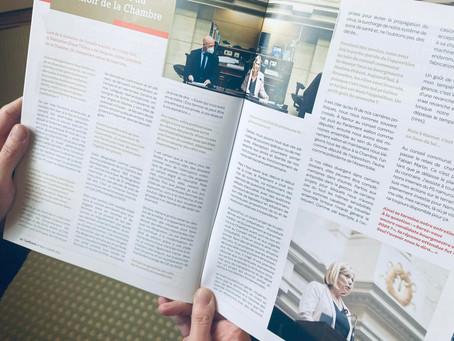 Mon interview au Confluent Magazine
