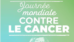 04/02 : Journée mondiale contre le cancer