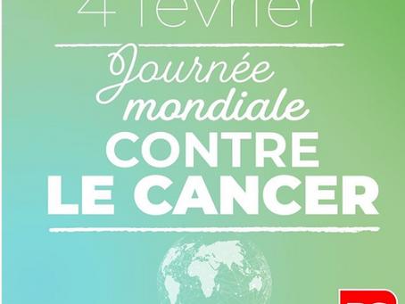 04/02 : Journée mondiale contre le cancer