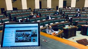 Les questions d'actualité de la Chambre seront désormais traduites en langue des signes