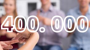 400.000 Belges