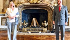 Première rencontre avec S.M. le Roi des Belges, Philippe.