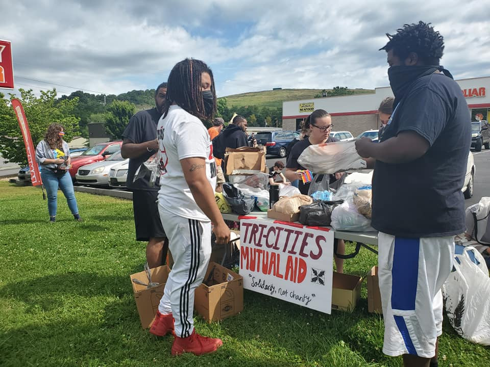 Community outreach and donation drive with New Panthers BLM movement