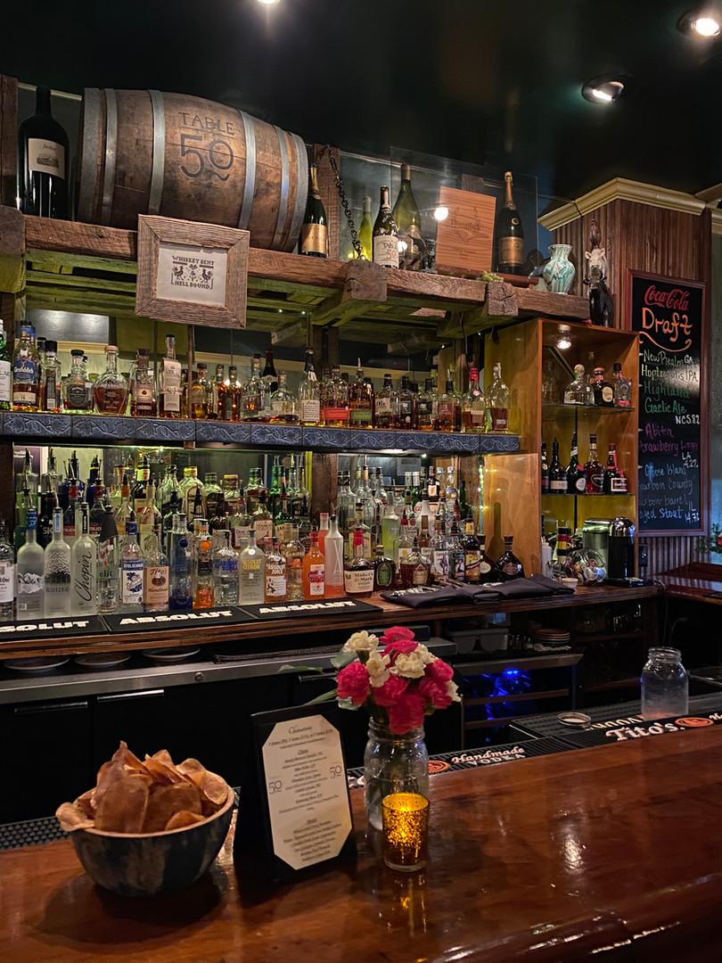 Table 50 Bar