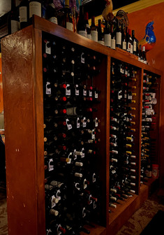 We offer a wide variety of wine