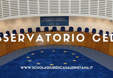 OSSERVATORIO CORTE EUROPEA DEI DIRITTI DELL'UOMO