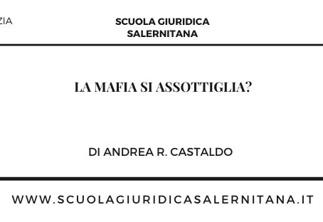 La mafia si assottiglia? - di Andrea R. Castaldo