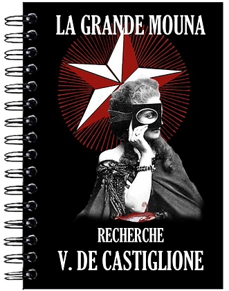 Carnet de notes - Virginia de Castiglione