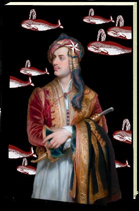 Carnet relié - Lord Byron