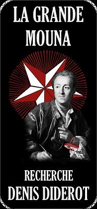 Autocollant - Denis Diderot