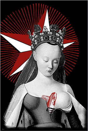 Carte postale - Agnès Sorel
