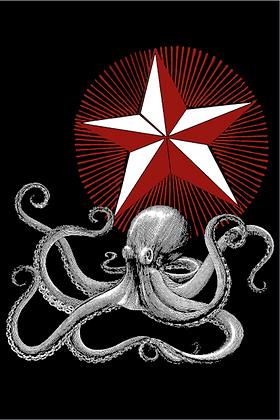Carte postale - Octopus