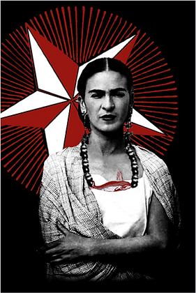 Carte postale - Frida Kahlo