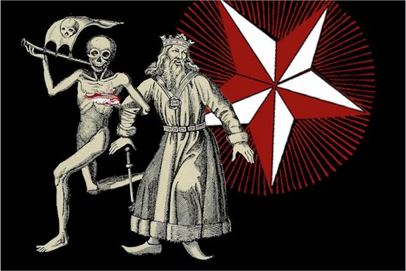Carte postale - Danse des morts