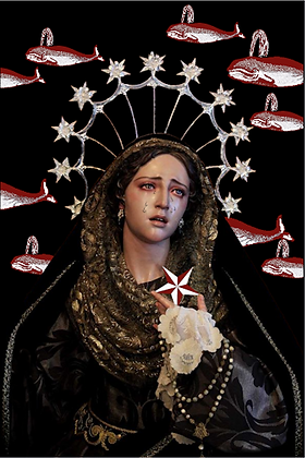 Carte postale - Virgen dolorosa