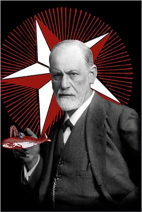Carte postale - Sigmund Freud