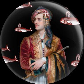 Badge - Lord Byron